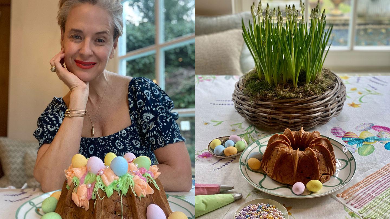 Easter At Home with Monsoon: Bake Your Own Easter Bundt Cake with Deborah Brett