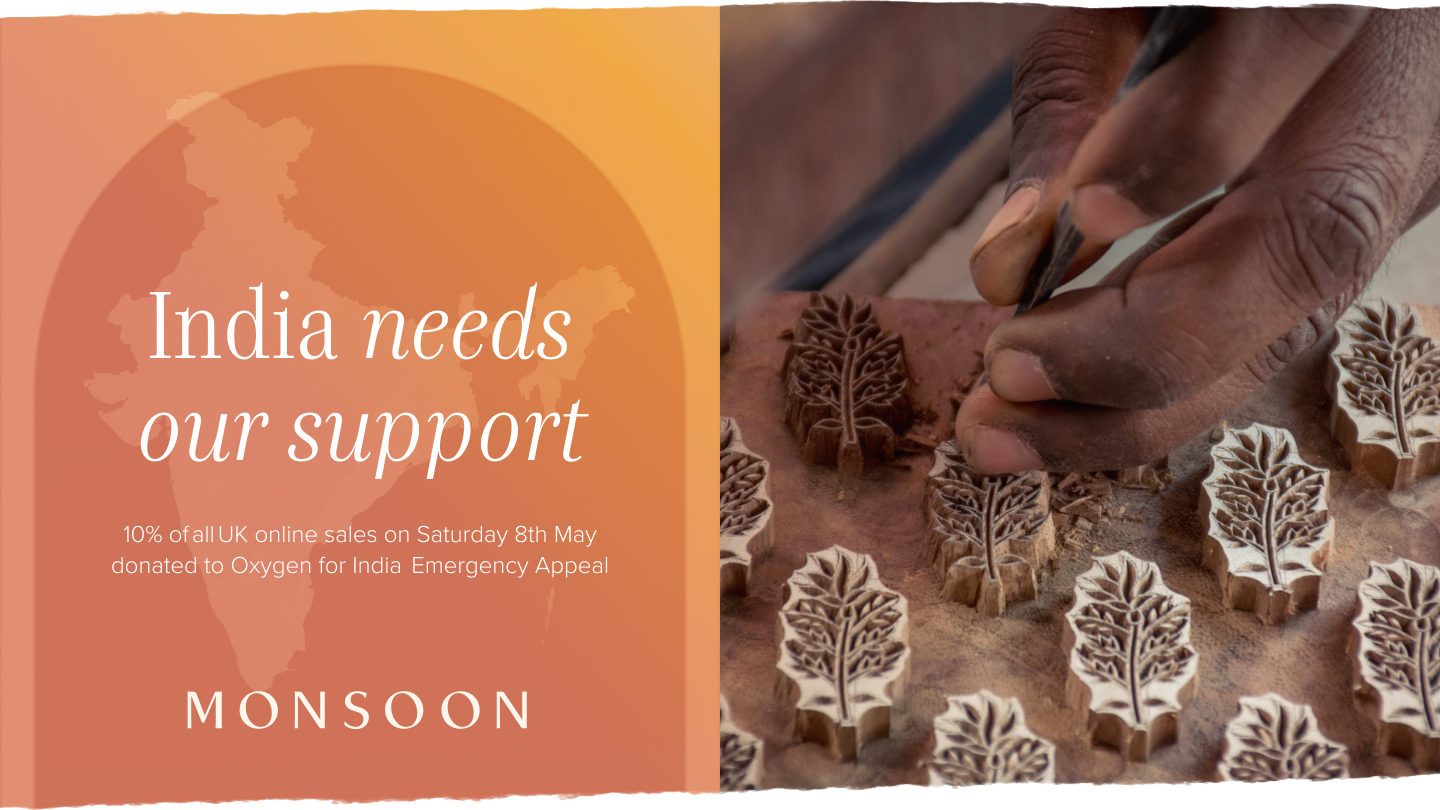 Sending Support to India and our Artisan Partners